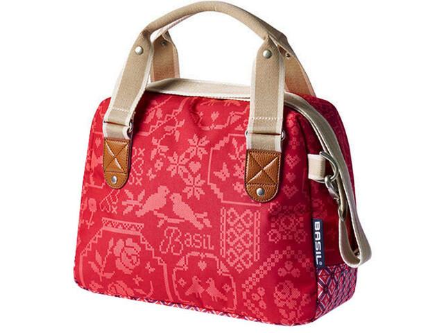 Basil Bohème City - Sac porte-bagages - 8l rouge